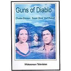 Guns of Diablo widescreen TV: Greeting Card: Merry Christmas