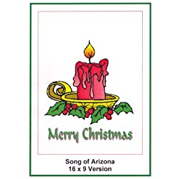 Song Of Arizona 16x9 Widescreen TV: Christmas card: Marry Christmas