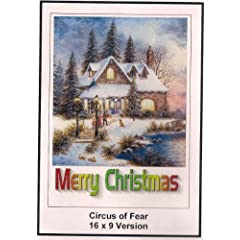 Circus of Fear: Widescreen TV: Greeting Card: Merry Christmas