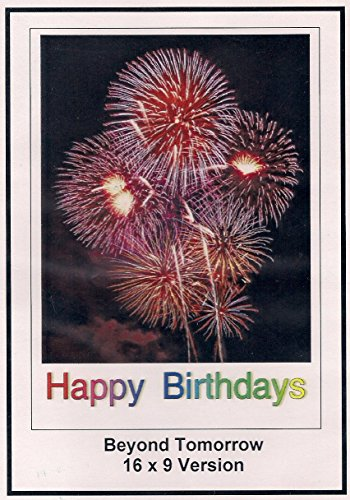 Beyond Tomorrow: 16x9 Widescreen TV.: Greeting Card: Happy Birthday
