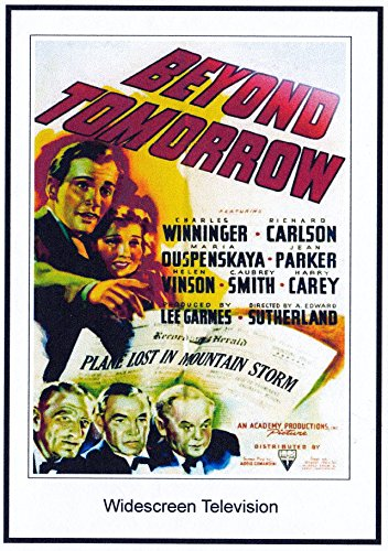 Beyond Tomorrow: 16x9 Widescreen TV>