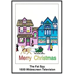 The Fat Spy: Greeting Cards: Merry Christmas