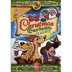 Christmas Cartoon Classics DVD