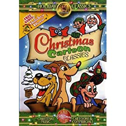 Christmas Cartoon Classics DVD