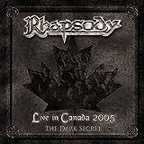 album art to Live in Canada 2005: The Dark Secret