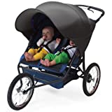 Double Uv Protective Stroller Shade