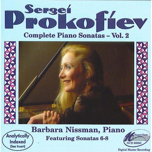 Prokofiev: Piano Sonatas, Vol. 2, Nissman