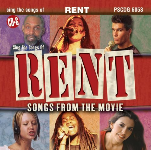 rent songs from the movie karaoke cdg by soundtrack