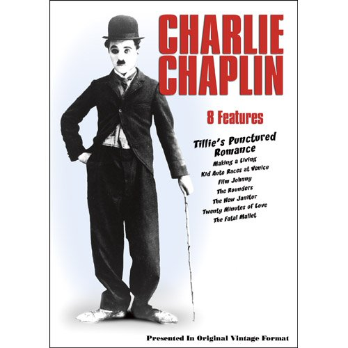 Charlie Chaplin - 8 Features