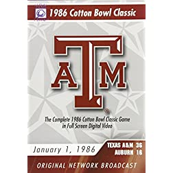 1986 Cotton Bowl Classic Game