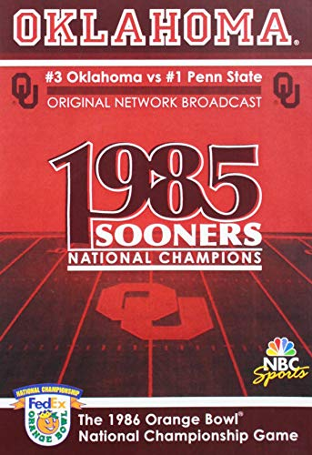 1986 Orange Bowl National Championship Game