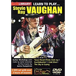 Learn to Play...Stevie Ray Vaughn Guitar Techniques, Vol. 1