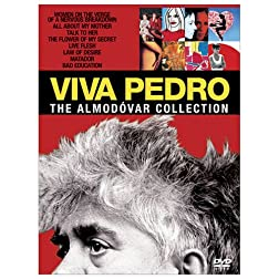 Viva Pedro - Pedro Almodovar Classics Collection (Talk to Her/ Bad Education/ All about My Mother/ Women on the Verge of a Nervous Breakdown/ Live Flesh/ Flower of My Secret / Matador / Law of Desire)