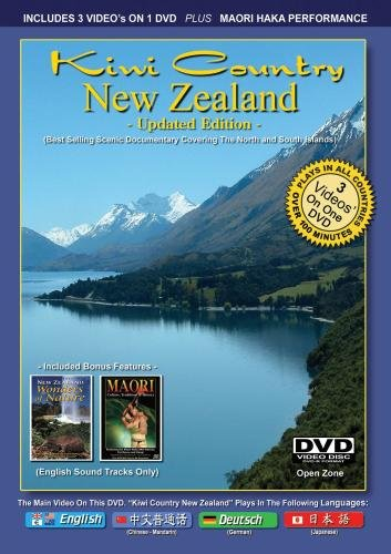 Kiwi Country New Zealand - 3 Video's On One DVD