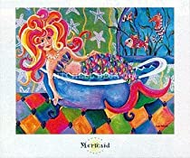 Art Poster Print - Mermaid - Artist: Ronda Ahrens - Poster Size: 24 X 20 inches