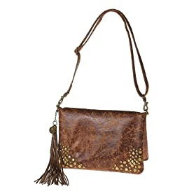 La Rue Women's Distressed Studded Handbag from The Devil Wears Prada 