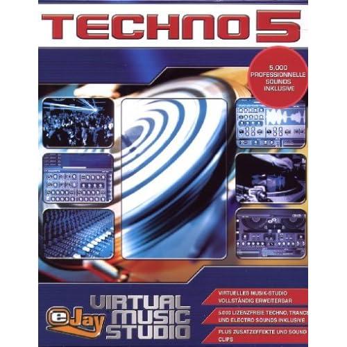 EJay Virtual Music Studio Techno 5 ML (1 cd) - Cheap OEM ...