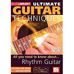 Ultimate Guitar Techniques Rhythm Guitar