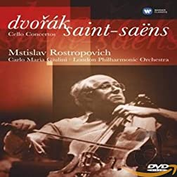 Mstislav Rastropovich: Dvorak/Saint-Saens Cello Concertos