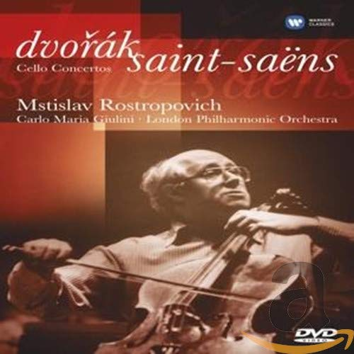 Mstislav Rastropovich: Dvorak/Saint-Saens Cello Concertos