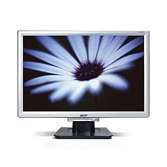 Acer AL2016W 20 WideScreen LCD Monitor-Silver