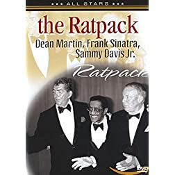 The Ratpack: Dean Martin, Frank Sinatra, Sammy Davis Jr.