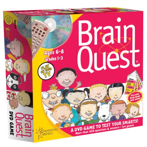 Brain Quest Ages 6-8 Boxed
