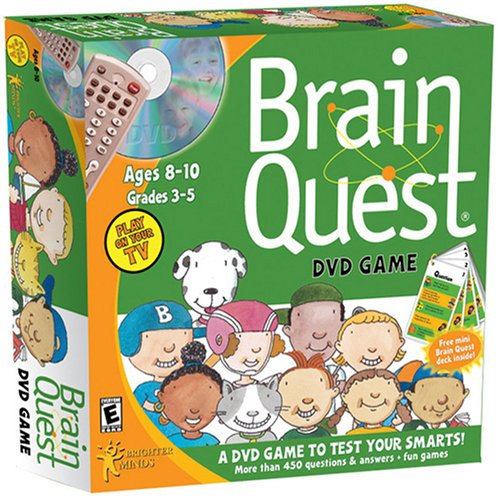 Brain Quest Ages 8-10 Boxed