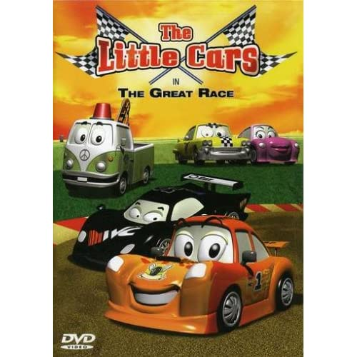 Тачки на больших гонках / The Little Cars in the Great Race (2006) DVDRip