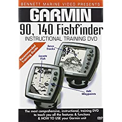 Garmin 140, 90 Fishfinders
