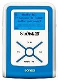SDMX2-512B-J65A Dオーディオプレーヤー 512MB ブルー