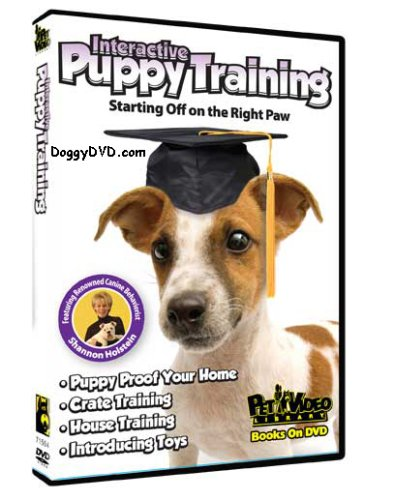 Interactive Puppy Training DVD - Start your Dog off on the Right Paw