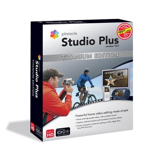 Программы / Pinnacle Studio Plus Titanium Edition v10.6 DVD ISO + Bonus DVD