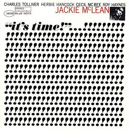 jackie mclean - it's time (sleeve art)