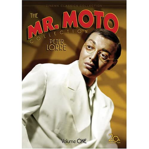 Mr. Moto DVD collection cover art