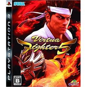 バーチャファイター5 特典 PS2「Virtua Fighter 10th anniversary 復刻版」付き