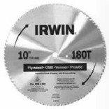 10/40T Irwin Steel Circular Saw Blade