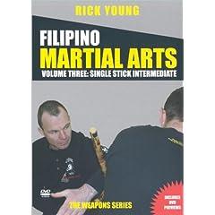 Filipino Martial Arts Vol 3: Single Stick Advanced Training