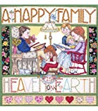 Happy Family Cntd X-Stitch-14X14