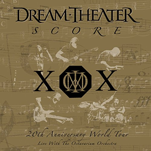 Dream Theater - Score: 20th Anniversary World Tour Live with the Octavarium Orchestra - Zortam Music