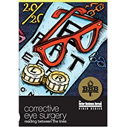 Corrective Eye Surgery: Reading Between the Lines