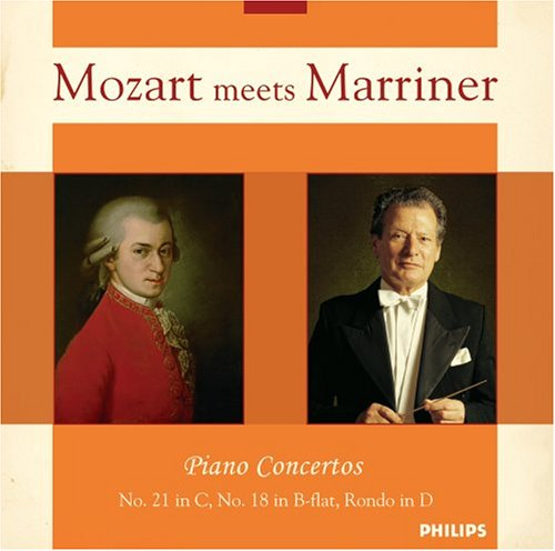 Mozart Meets Marriner: Piano Concertos (Academy of St. Martin-in-the-Fields feat. conductor: Neville Marriner)