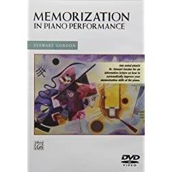 Memorization in Piano Music