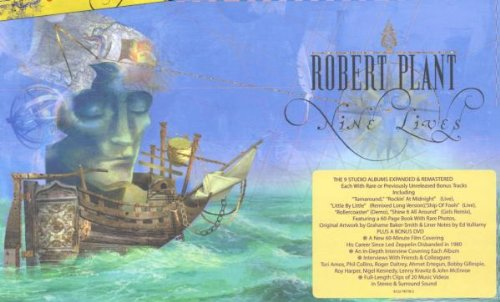 Robert Plant - Nine Lives: the Solo Recordings/Remastered & Expanded/+DVD - Zortam Music