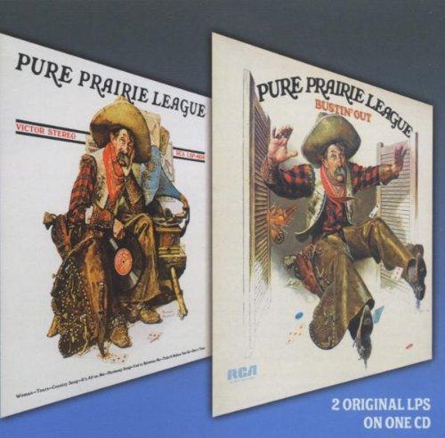 PURE PRAIRIE LEAGUE - Pure Prairie League/Bustin
