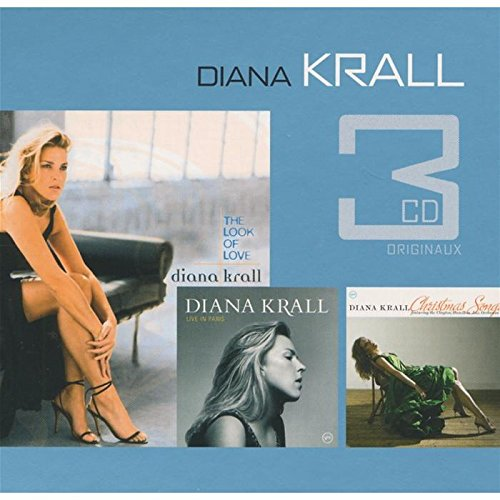 Diana Krall - Coffret 3 CD : The Look of Love / Live in Paris / Christmas Songs - Zortam Music
