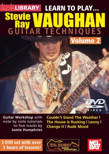 Learn to Play...Stevie Ray Vaughn Guitar Techniques, Vol. 2