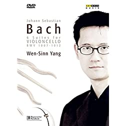 Bach: 6 Suites For Violoncello [CD & DVD]