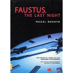 Dusapin - Faustus, The Last Night