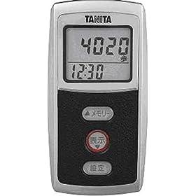 【クリックで詳細表示】タニタ(TANITA) 3Dセンサー搭載歩数計 ブラック FB-720-BK